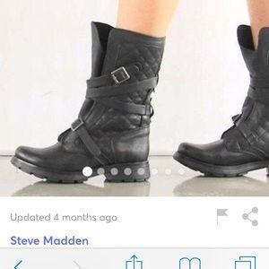Steve Madden bounti black boots